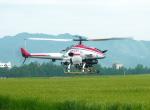 ヘリコプターを用いた農業
